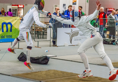 OC James Russell's Fencing Successes