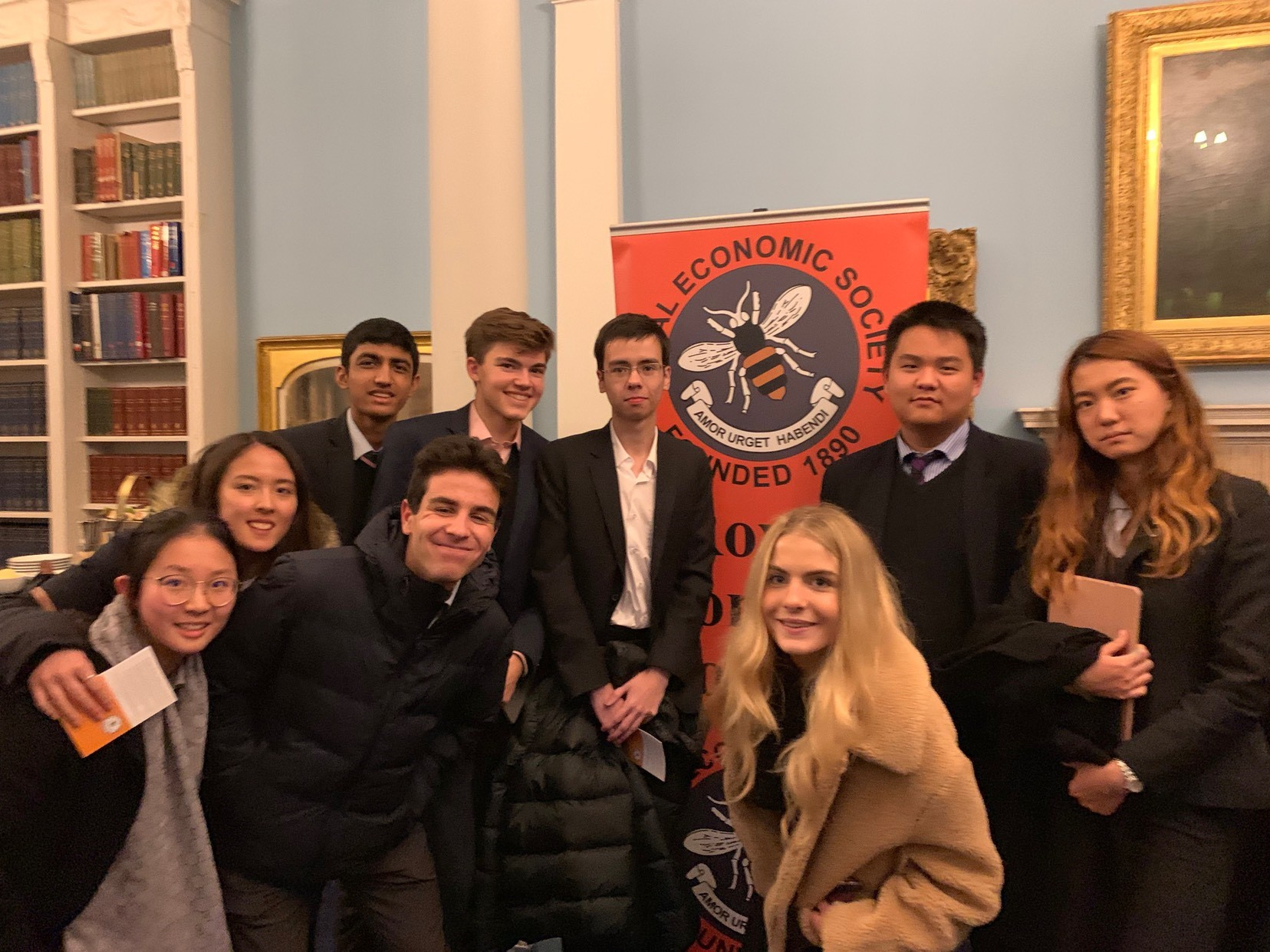 Royal Economics Society Trip