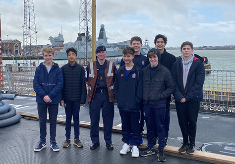HMS Diamond Tour