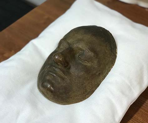 Death Mask of King Charles XII of Sweden