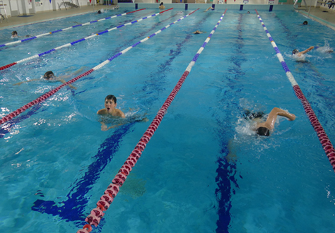 Robinites Swim for Charity