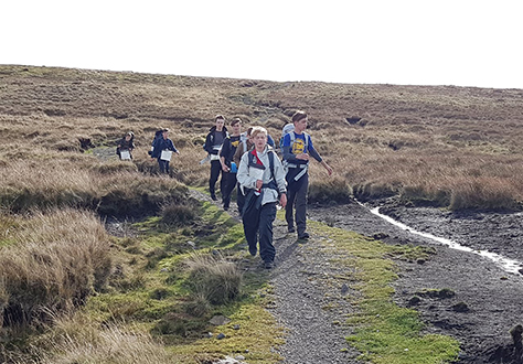 Pupils take on Brecon Beacons