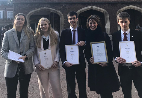 Gold Duke of Edinburgh Awards