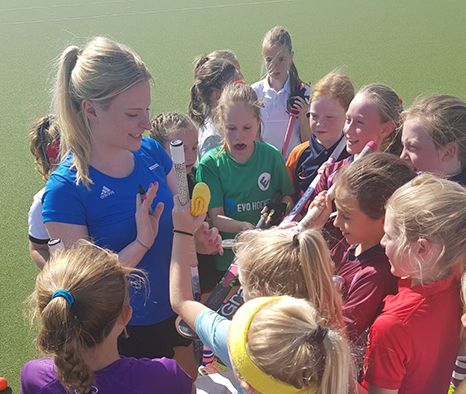 U11 Girls' Hockey Festival at Charterhouse