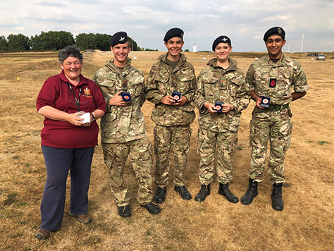 Shooting team wins big at Bisley