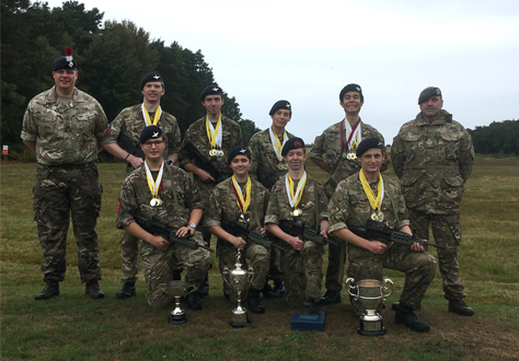 Outstanding success for CCF Shooting Teams