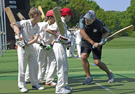 Mark Butcher Cricket Masterclass